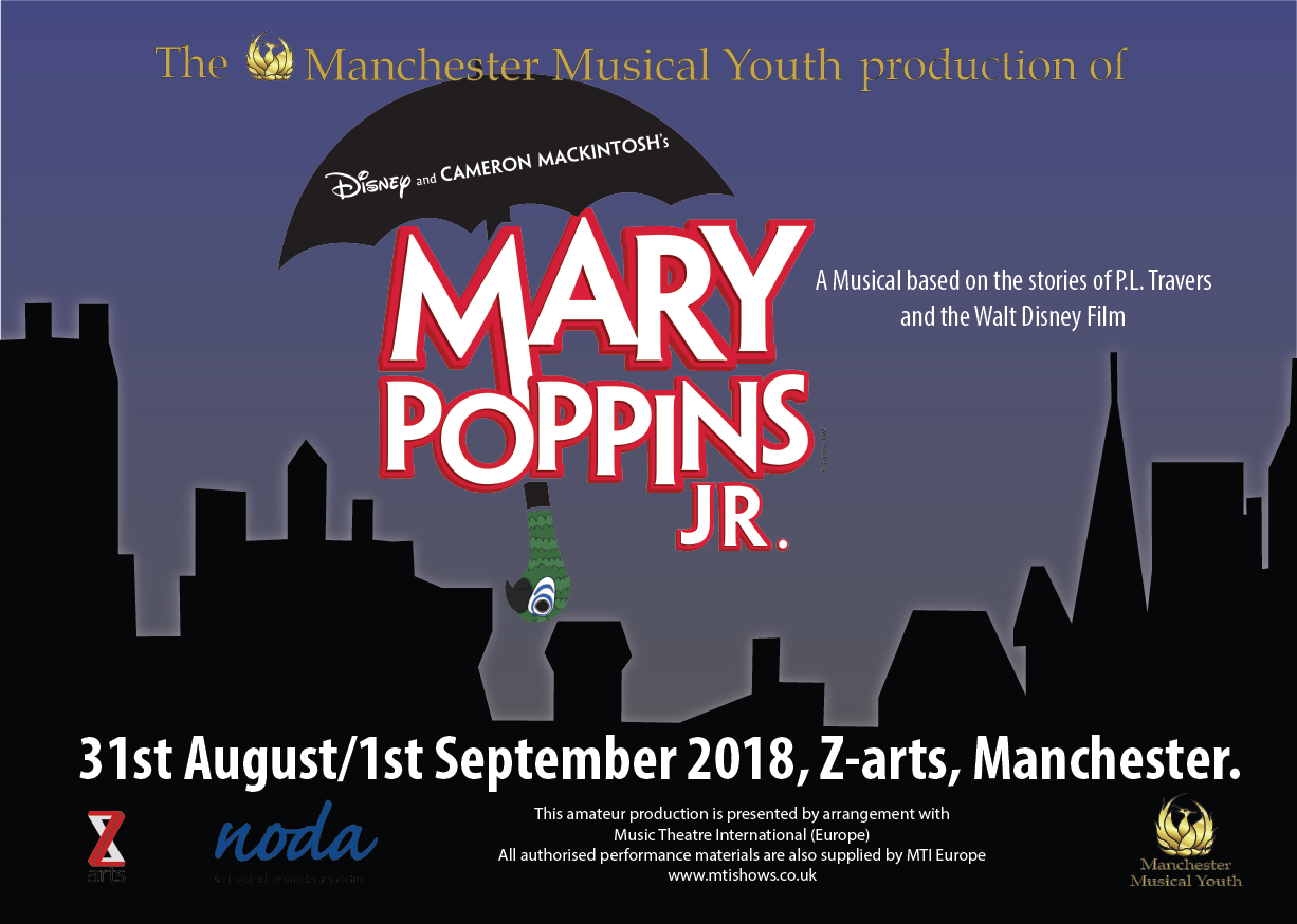 Mary Poppins Jr The Musical